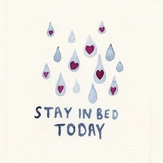 stayin bed